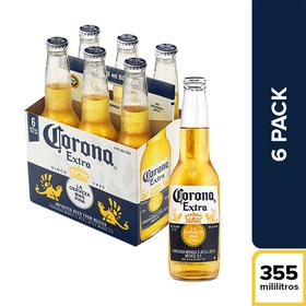 f2e061371e6 Cerveza Corona Botella X6