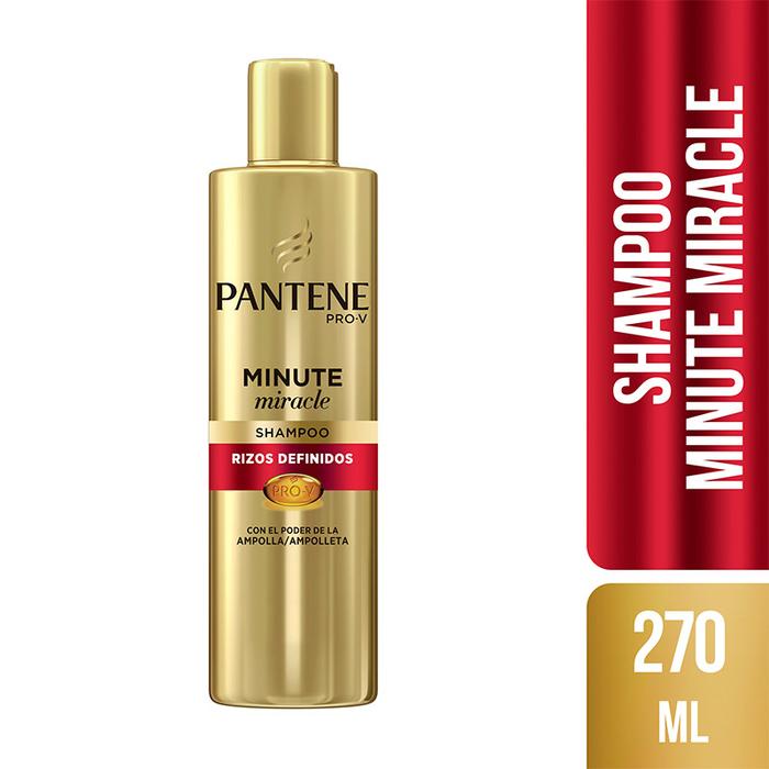 Shampoo Pantene Pro V Minute Miracle Rizos Definidos
