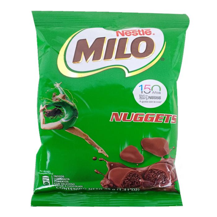 Chocolate Milo Nuggets 40 Gr En